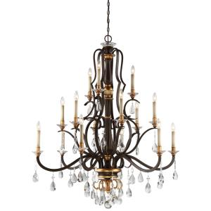 Chateau Nobles - Fifteen Light 2-Tier Chandelier