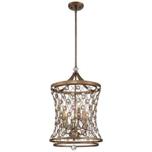 "Vel Catena - 26.25"" Six Light Pendant"