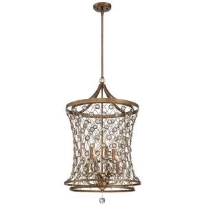 "Vel Catena - 20"" Eight Light Pendant"