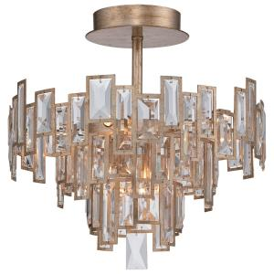 Bel Mondo - Five Light Semi-Flush Mount