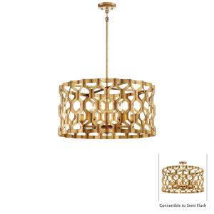Coronade - Six Light Convertible Pendant
