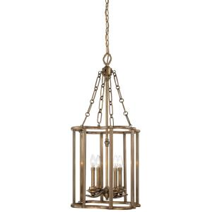 "Leicester - 37.25"" Four Light Pendant"