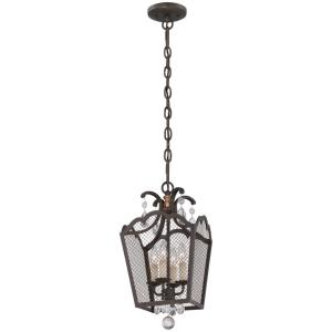 "Cortona - 12"" Four Light Convertible Pendant"