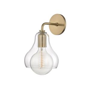 Sadie-One Light Large Wall Sconce in  Style-7.25 Inches Wide by 12.75 Inches High