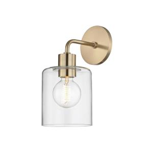 Neko-One Light Wall Sconce in  Style-5.5 Inches Wide by 12 Inches High