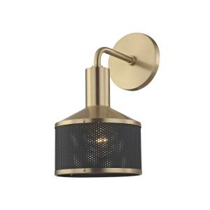 Yoko-One Light Wall Sconce in  Style-6 Inches Wide by 11.5 Inches High