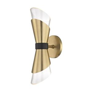 """Angie - 15"""" 8W 2 LED Wall Sconce"""