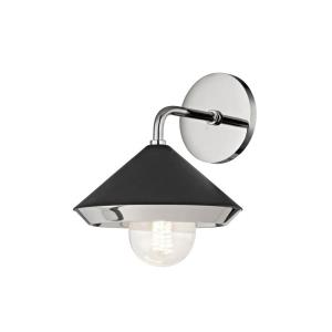 Marnie-One Light Wall Sconce in  Style-8 Inches Wide by 10 Inches High