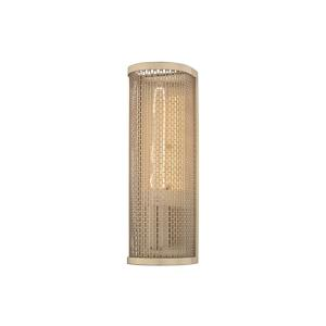 Britt-One Light Wall Sconce in  Style-4.5 Inches Wide by 13 Inches High