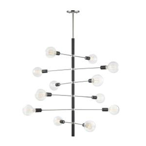 Astrid-Twelve Light Chandelier in  Style-36 Inches Wide by 44.5 Inches High