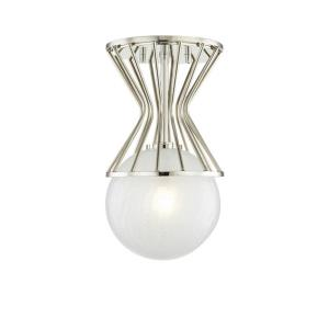 Petra - One Light Semi-Flush Mount