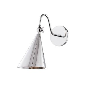 Lupe-1-Light Wall Sconce in  Style-6.25 Inches Wide by 12 Inches High