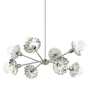 Alyssa-Eight Light Chandelier in  Style-42 Inches Wide by 17.75 Inches High