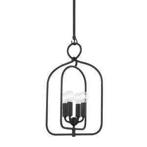 Mallory-4 Light Small Pendant in Transitional Style-11.75 Inches Wide