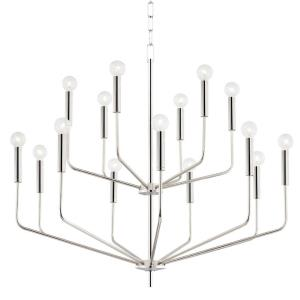 Bailey - 15 Light 2-Tier Chandelier