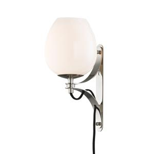 Lindsay-1-Light Wall Sconce With Plug in  Style-6.25 Inches Wide by 13.25 Inches High