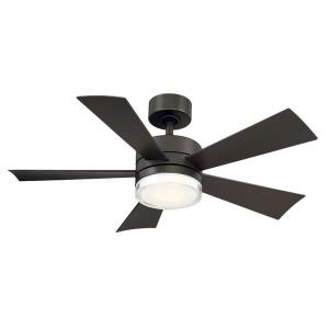 Wynd - 42 Inch 5 Blade Ceiling Fan with LED Light Kit and Wall Control