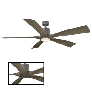 Aviator - 70 Inch 5-Blade Ceiling Fan with Wall Control