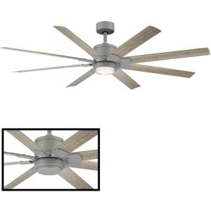 Renegade - 52 Inch 8-Blade Ceiling Fan with Light Kit and Remote Control