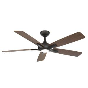 Mykonos 5 - 60 Inch 5-Blade Ceiling Fan with Light Kit and Remote Control