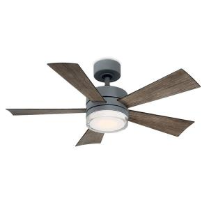 Wynd - 42 Inch 5 Blade Ceiling Fan with 3000K LED Light Kit and Wall Control