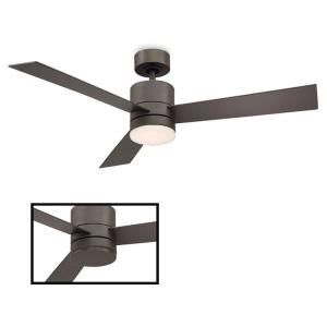 Axis - 52 Inch 3 Blade Ceiling Fan with Light Kit and Wall Control