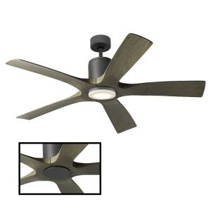 Aviator - 54 Inch 5 Blade Ceiling Fan with Wall Control