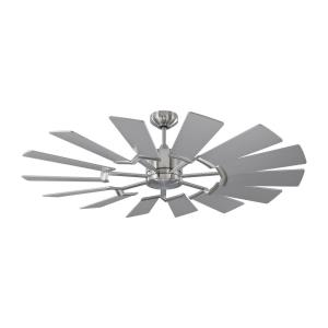 Prairie 52 14 Blade 52 Inch Ceiling Fan with Handheld Control and Includes Light Kit