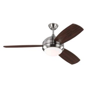 "Discus Trio - 52"" Ceiling Fan with Light Kit"