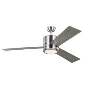 Vision Max - 56 Inch 3 Blade Ceiling Fan with Light Kit