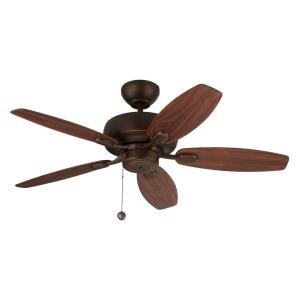 Centro Max II 5 Blade 44 Inch Ceiling Fan with Pull Chain Control