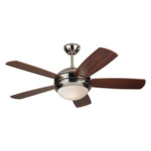 "Discus II - 44"" Ceiling Fan with Light Kit"