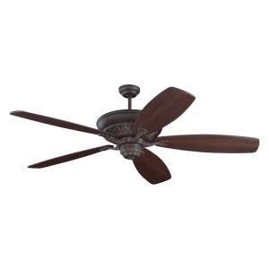 St. Ives 5 Blade 60 Inch Durango Ceiling Fan with Pull Chain Control and Optional Light Kit