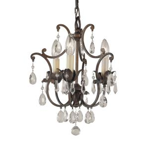 3 Lt Mini Duo Chandelier