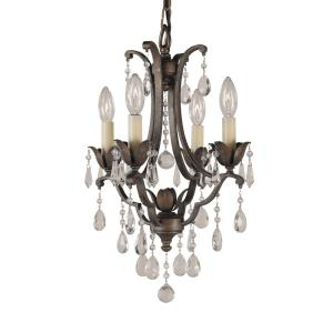 4 Light Mini Duo Chandelier