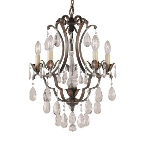 5 Light Mini Duo Chandelier