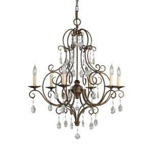 Chateau Chandelier 6 Light