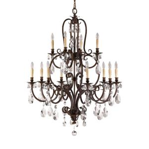 Salon Ma Maison 2-Tier Chandelier 1 Light