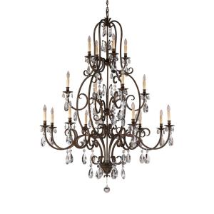Salon Ma Maison Collection Chandelier - 3 Tiers