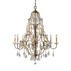 Valentina - Twelve Light Two Tier Chandelier