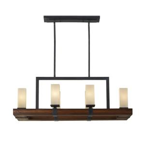 Madera - Six Light Chandelier
