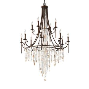 Cascade - Twelve Light Multi-Tier Chandelier
