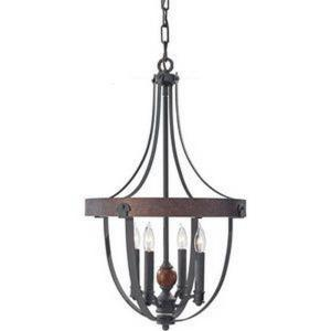 Alston - Four Light Chandelier