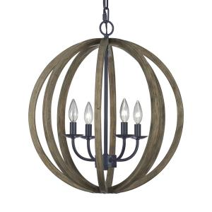 Allier - Four Light Large Pendant