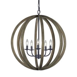 Allier - Five Light Large Pendant