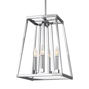 Conant - Pendant 4 Light in Transitional Style - 13 Inches Wide by 18 Inches High