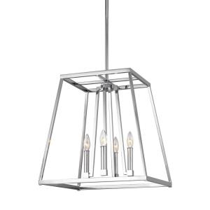 "Conant - 18"" Four Light Pendant"