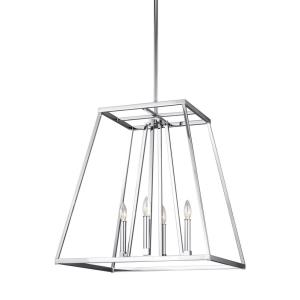 "Conant - 23"" Four Light Pendant"
