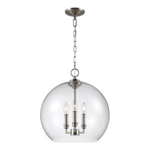 "Lawler - 16"" Three Light Pendant"