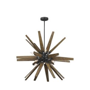 Thorne Chandelier 8 Light Steel